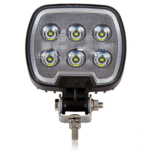 "4.7"" Square LED Work Light (1200 Lumens) Flood Beam"