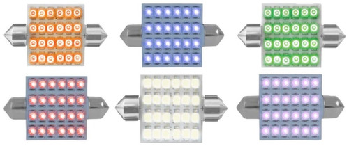 #211-2 Dome Type LED Light Bulb -24 Diodes