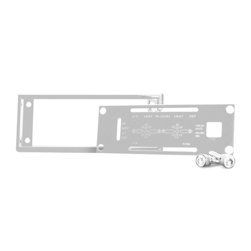 AC Control/Cover Plate Kit for Kenworth W Model