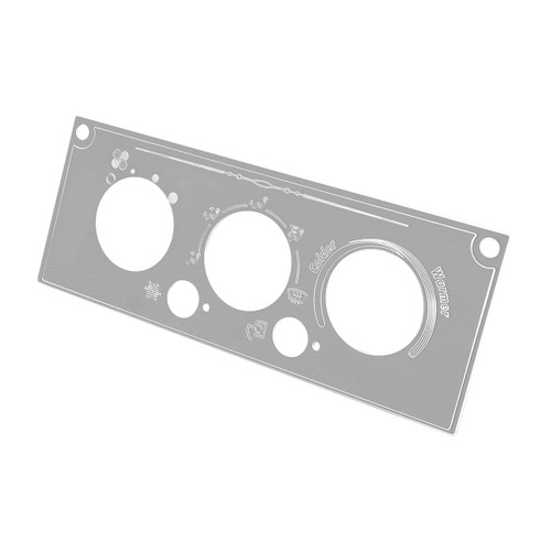 AC Control Panel Plate for Kenworth W & T (Early 02-06)