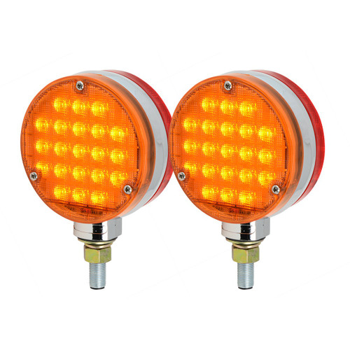 Amber LEDs with Amber Lens