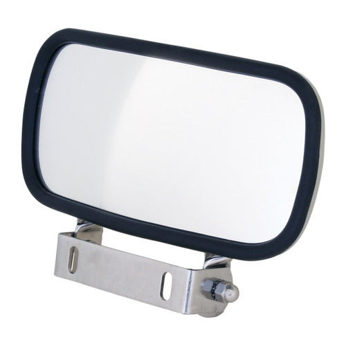 "4"" x 8"" Stainless Steel Convex Blind Spot Mirrors"