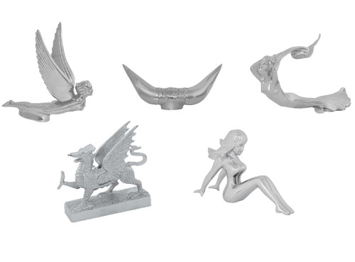 Hood Ornaments (5 Styles Available)