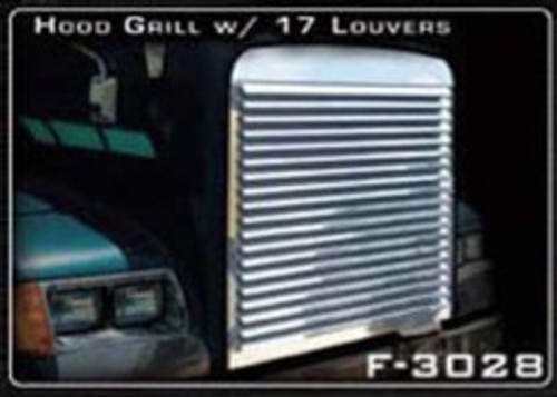 Freightliner FLD 120 & Classic Louvered Grill