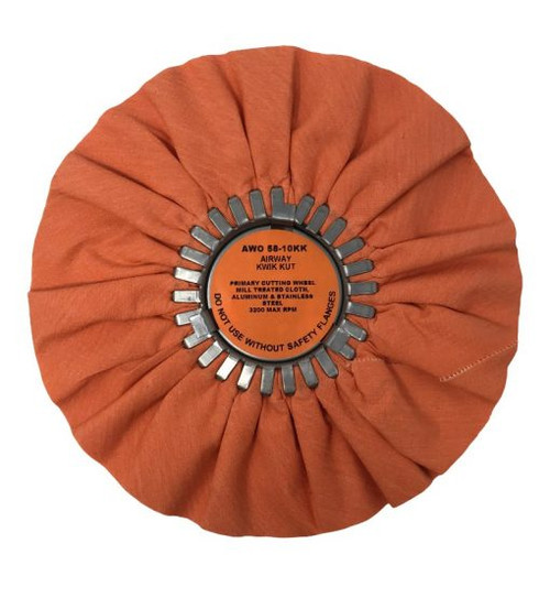 10″ Kwik Kut Polishing Wheel