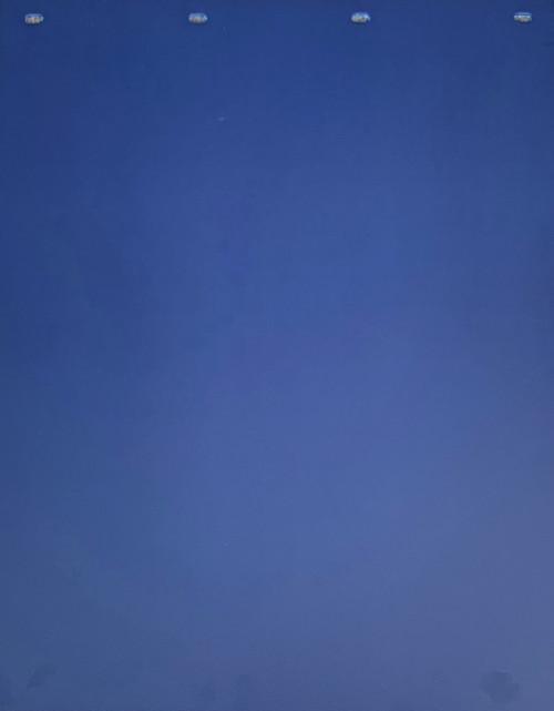 "Navy Blue Plastic Mud Flap (24""x30"")"