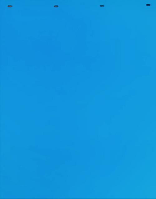"Baby Blue Plastic Mud Flap (24""x30"")"