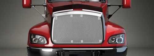 Bug Screen Grille Cover for Select Long Nose Peterbilts