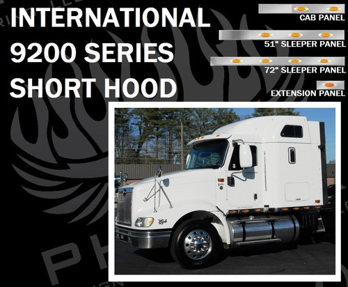 International 9200 Series Cab, Sleeper, and Extension Panels