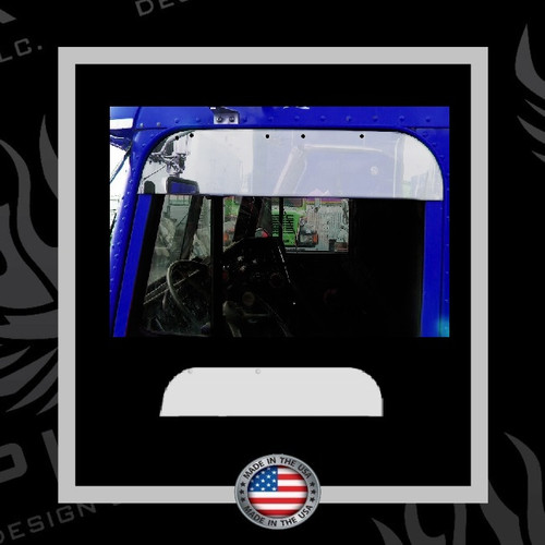 Window Trim Chop for Freightliner FLD/Classic