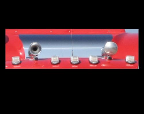 Plain Sleeper Caps & Sides for Ultra Sleeper Peterbilts