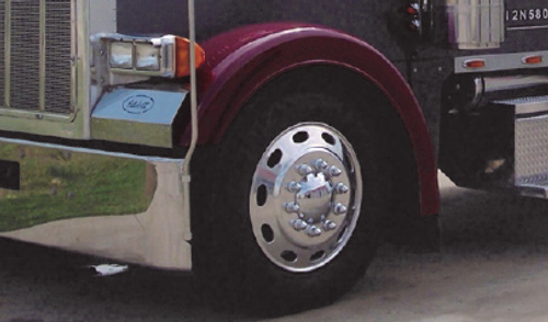 Fiberglass Front Fenders for Peterbilt 378 & 379