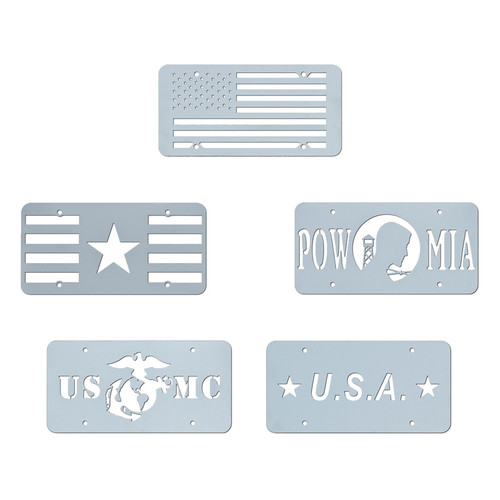 Custom Vanity License Plate Set