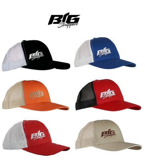 Big Strappers Trucker Snapback Hat