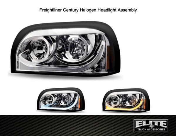 Freightliner Century Headlight Assembly (PAIR)