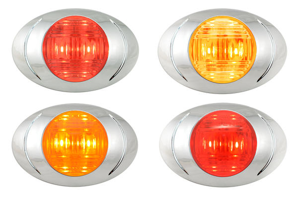 Oval Phoenix P3 LED Clearance Marker Light