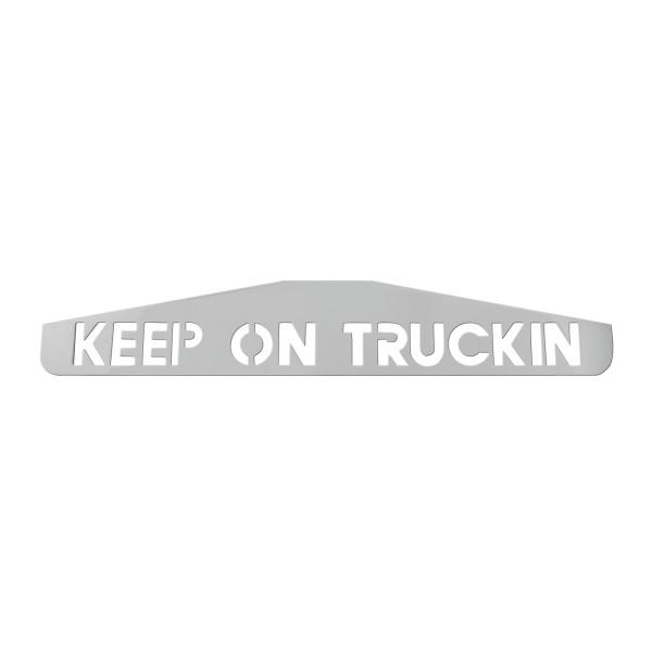 "24"" Bottom Mud Flap Plates - Keep On Trucking"
