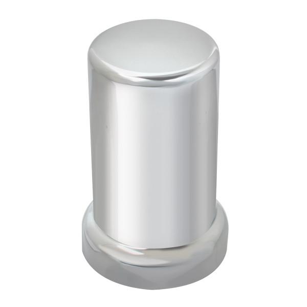 Tube Chrome Plastic Lug Nut Cover with Flange