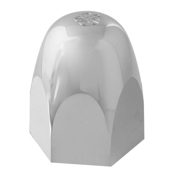 Standard Push-On Lug Nut Cover w/ SS Clips & NO Flange