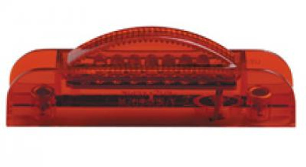 Thin Line Red Clearance Marker LED Light