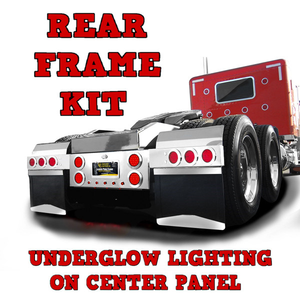 Rear Frame Kit with LED Lights - 3 Piece