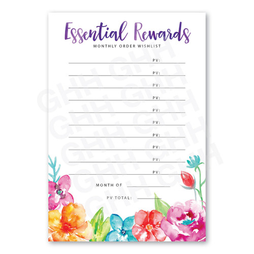 Essential Rewards Notepad Pack