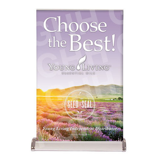 YL Tabletop Banner - Choose the Best