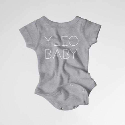 YLEO BABY Onesie - Gray