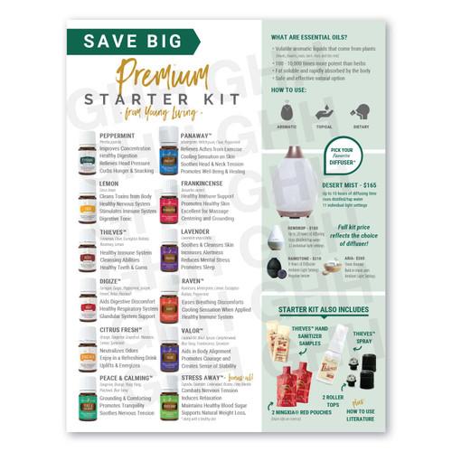 Premium Starter Kit Flyer (PDF)