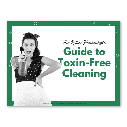 Retro Housewife's Guide to a Chemical-Free Clean Class