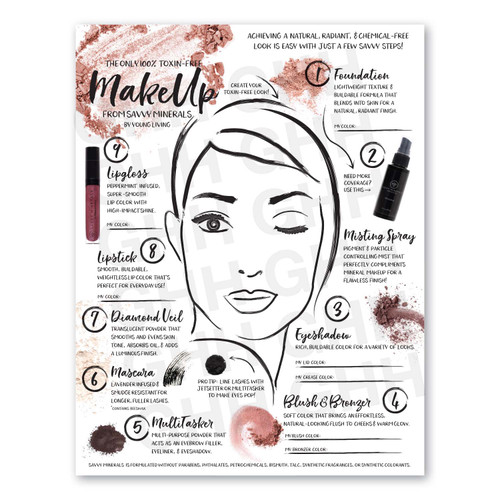 Savvy Minerals Beauty Flyer (PDF)