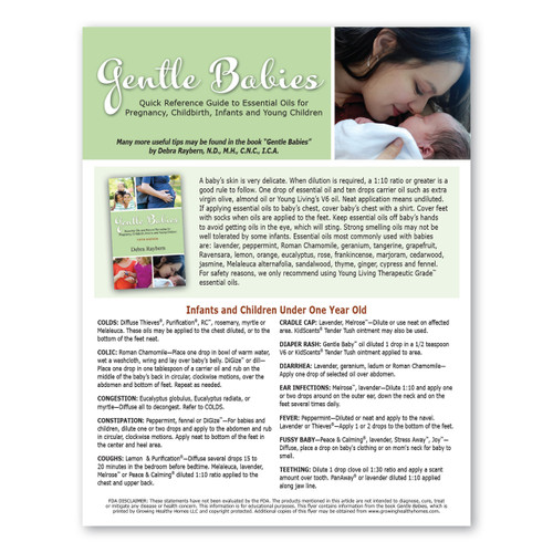 Gentle Babies Quick Reference Handout Pack Sale