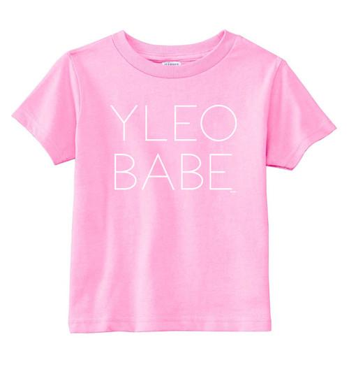 YLEO BABE Shirt - Pink