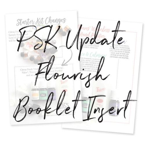2019 Flourish Booklet Insert Pack