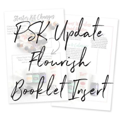 2019 Flourish Booklet Insert Pack
