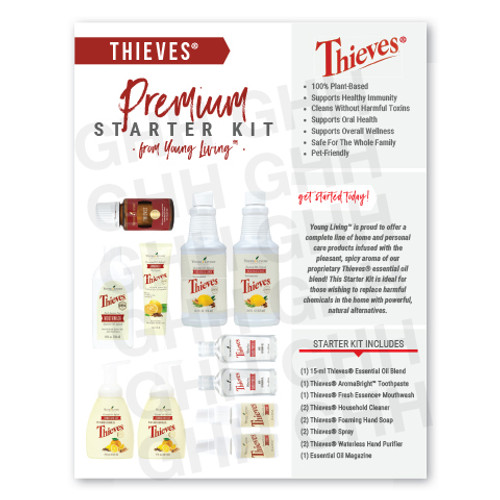 Thieves® Premium Starter Kit Flyer (PDF)