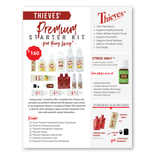 Thieves® Premium Starter Kit Flyer Pack
