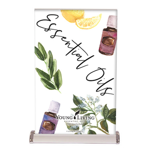 Young Living Essential Oils Tabletop Banner
