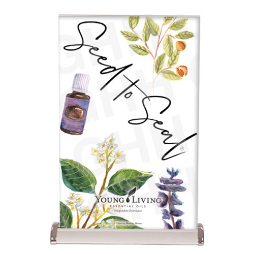 Young Living Seed to Seal Tabletop Banner