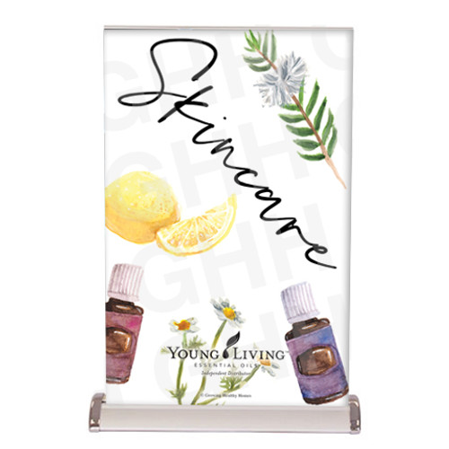 Young Living Skincare Tabletop Banner
