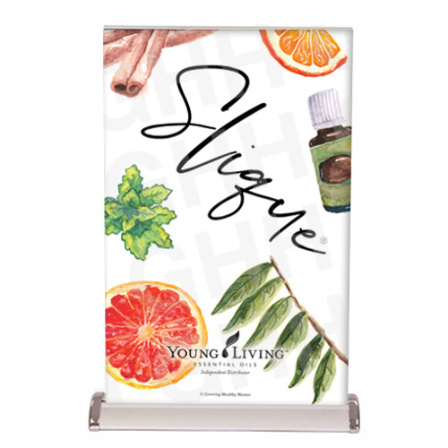 Young Living Slique Tabletop Banner