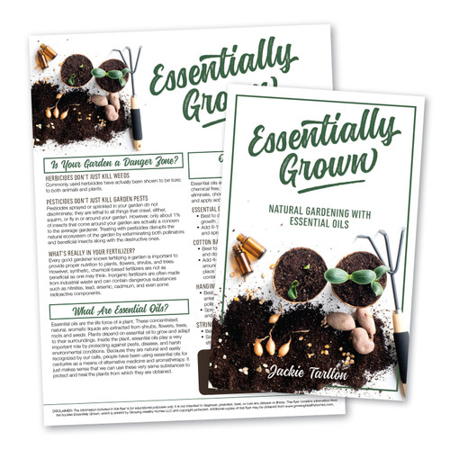 Essentially Grown: Natural Gardening with Essential Oils Bundle