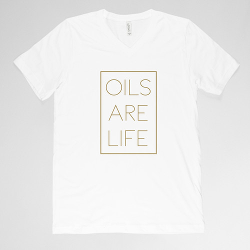 Oils Are Life Shirt - White