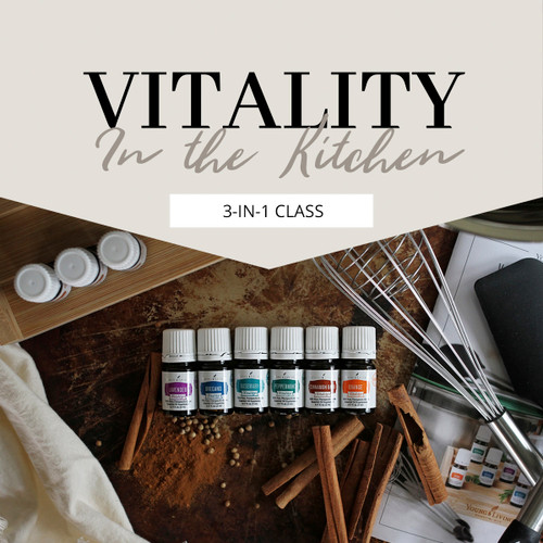 Vitality in the Kitchen 3-in-1 Class