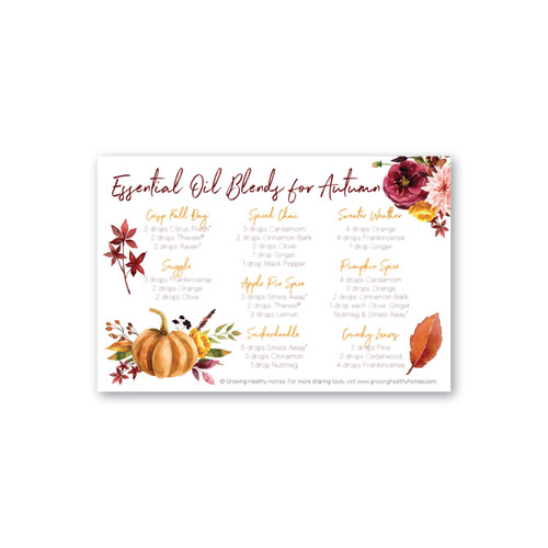 Autumn Blends Postcards