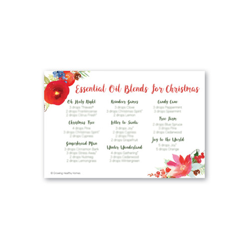 Christmas Blends Postcards
