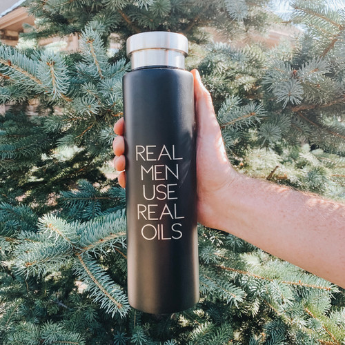 Real Men Stainless Steel Bottle