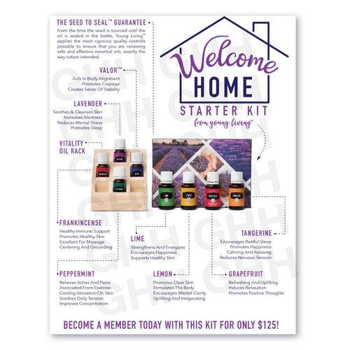 Welcome Home Starter Kit Flyer (PDF)