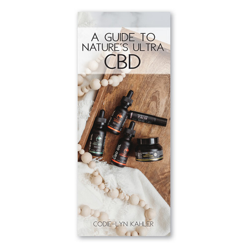 A Guide to Nature's Ultra CBD Brochure Pack