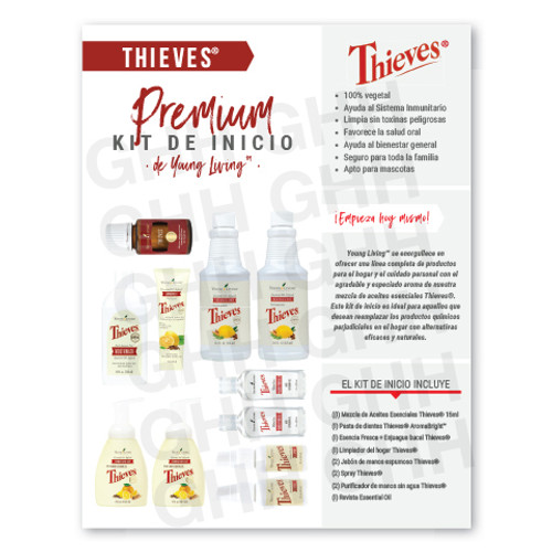 Spanish Thieves® Premium Starter Kit Flyer (PDF)